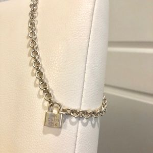 Tiffany & Co. Sterling Silver Link Necklace
